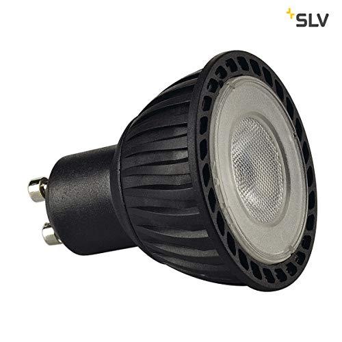 Preisvergleich Produktbild SLV LED GU10 Leuchtmittel,  5, 1cm Ø ,  4, 3 Watt,  2700 Kelvin (warmweiß),  245 Lumen Lichtstrom,  nicht dimmbar ,  äußerst sparsame LED-Lampe mit EEK A+ und 5 kWh Energieverbrauch ,  25.000 h Lebensdauer