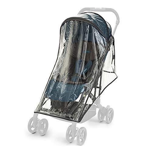 Recaro Kids, Easylife Kinderwagen Regenschutz 2020, Transparent und Waschbar, Schützt vor Wind und Wetter, kompatibel mit allen Recaro Easylife Kinderwagen, Reflektierende Einsätze, Kinderwagenbezug