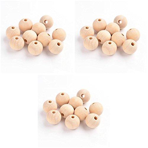 D DOLITY 150pcs bola forma hermosas perlas de ágata sueltas para joyas DIY machen/joyas