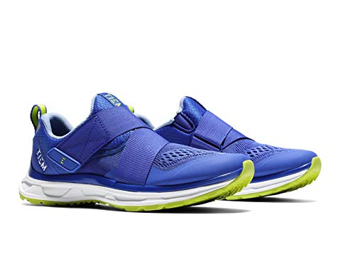 TIEM Slipstream - Hyper Blue - Indoor Cycling Spin Shoe, SPD Compatible (Women's Size 8)