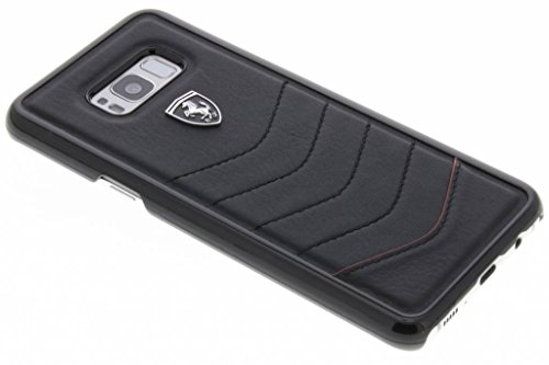 Ferrari FEHQUHCS8LBK CG Mobile - Funda para Samsung Galaxy S8 Plus, Color Negro