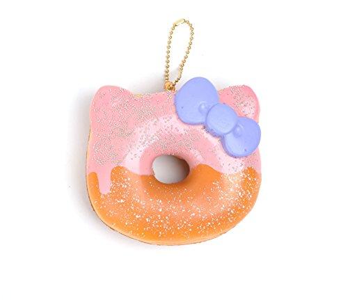 Hello Kitty Squishy: Raspberry Glazed Donut