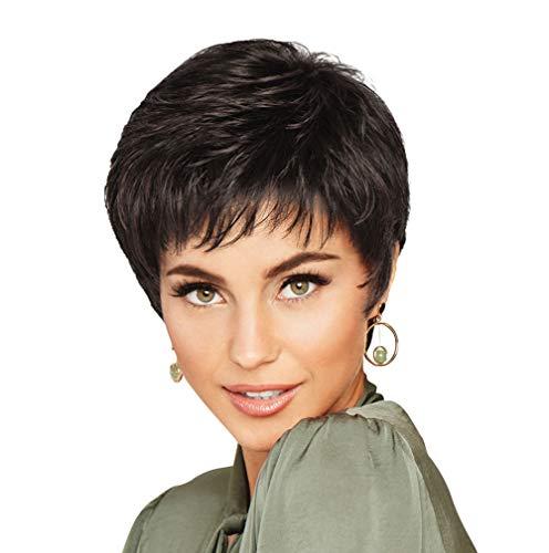 Hair u wear Raquel Welch Winner Short Pixie Wig, R2 Ebony by Hairuwearqax