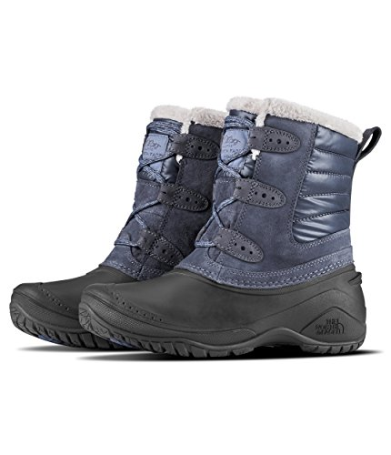 The North Face Women's Shellista II Shorty - Grisaille Grey & Weathered Black - 11
