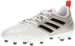 Platino Black and Coral Red adidas Performance Women's Ace 17.3 FG W Soccer Shoe