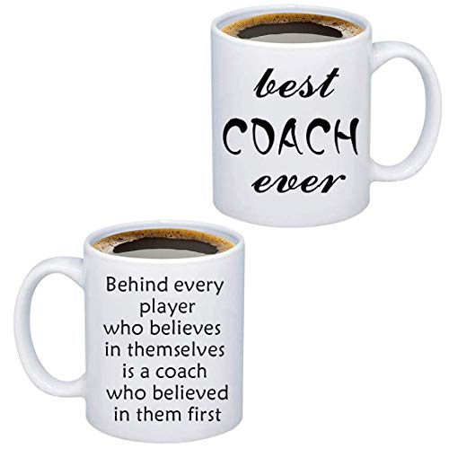 TIIMG Coach Coffee Mug Coach Appreciation Thank You for Coach End of Season Coach Team Mom Coach Coffee Mug Best Coach Mug