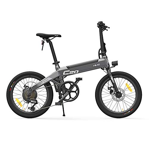 Lixada HIMO C20 20 Pulgadas Plegable 80KM Range Power Assist Bicicleta
