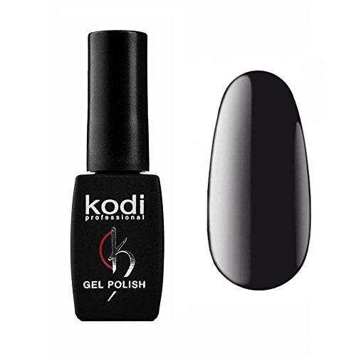 Kodi Professional New Collection BW Color Gel Nail Polish 12ml 0.42 LED UV Genuine Soak Off Fl Oz Black #100