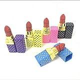 2PCS Lipstick Shape Butane Cigarette Lighter