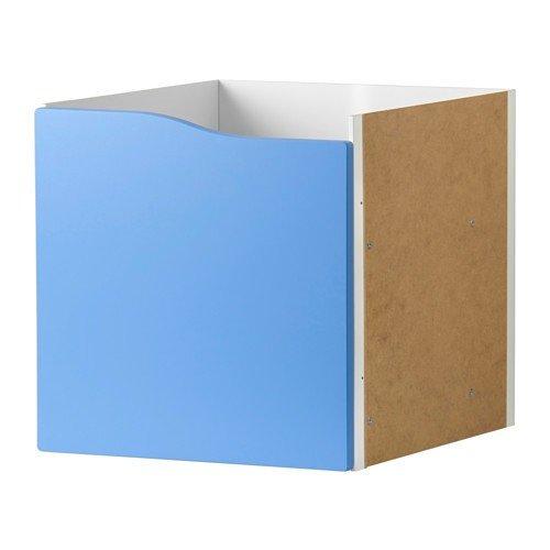 IKEA KALLAX Regal Einsatz mit Tür ohne Griff in blau; (33x33cm); passt zu EXPEDIT