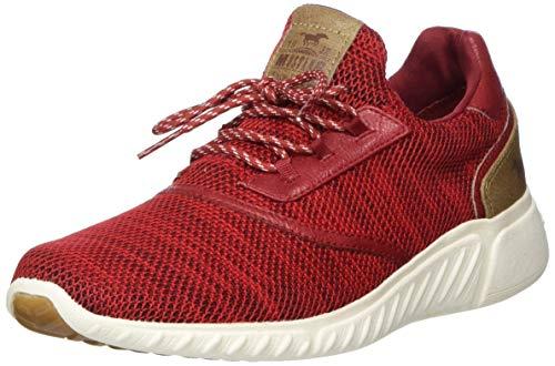 MUSTANG Shoes Halbschuhe in Übergrößen Rot 1315-301-5 große Damenschuhe, Größe:43
