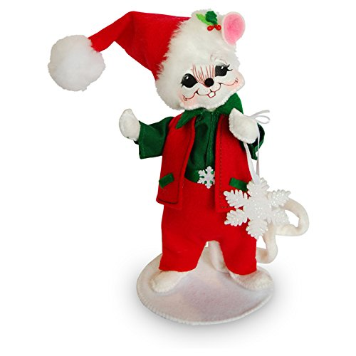 Annalee - 6in Snowflake Boy Mouse
