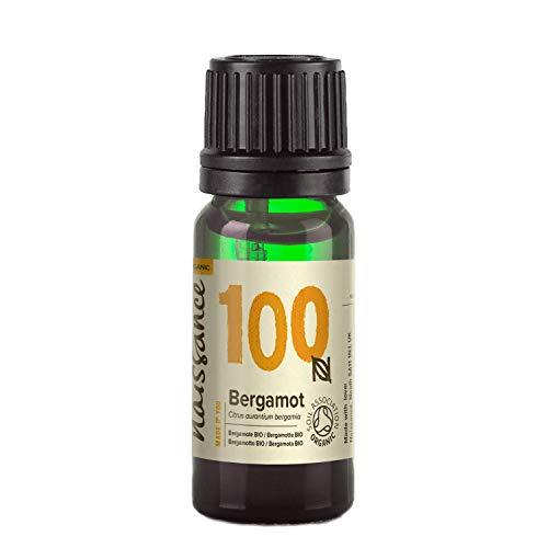 Naissance Organic Bergamot (FC Free) Essential Oil 10ml - Pure, Natural, Certified...