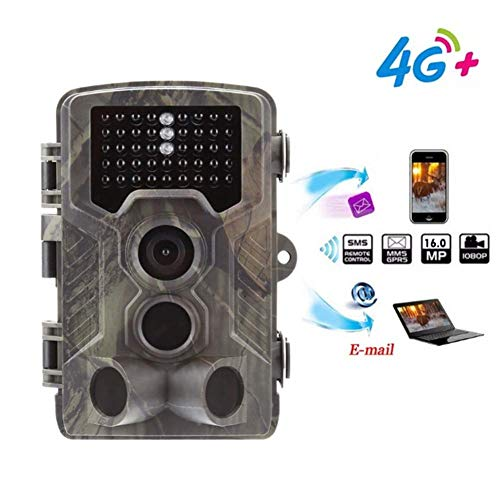 WLDOCA Wild Animal Trail Camera 2,4-Zoll-Bildschirm Outdoor Wildlife Camera Ultra High Definition wasserdichte Infrarot-Nachtsicht-Überwachungskamera