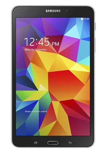 Samsung Galaxy Tab 4 7-inch Tablet (Black) - (Quad Core 1.2GHz, 1.5GB RAM, 8GB Storage, Wi-Fi, Bluetooth, 2x Camera, Android 4.4)