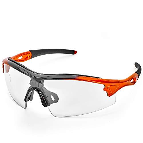 Gafas de Seguridad Deportivas de Lente Cristalino ToolFreak Reevo. Anti Reflejo, Trabajo Deporte y Más. Protección UV y contra Impactos. EN166 FT