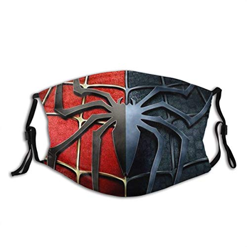 Mundschutz Red Spiderman Mouth Cover Face Cover Headscarf Outdoor Seamless Reusable Mouth Scarf