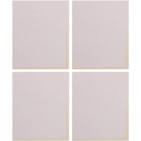 White Sanding Sponge Sheet,Flexible Softback Wet or Dry, 4-Type (Fine/Medium/Super Fine/Ultral Fine) Set,4Pack