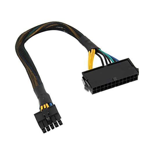 zNLIgHT PC Accessoires | Vervangende 24Pin Vrouwelijke naar 10 Pin Mannelijke Adapter Kabel voor ATX Lenovo Moederbord OneSize OneColor