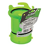 Thetford 17907 Titan Straight Sewer Adapter - Translucent Green
