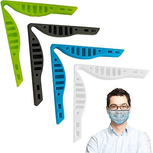 Wanxida 8 Stück Nasenständer, Nasenbrücke aus Silikon, Anti-Beschlag-Brille für Brillen, Nasenrücken, verhindert das Beschlagen der Brille