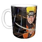 Anime Naruto Sasuke Tazza da caffè in ceramica con manico Naruto-2