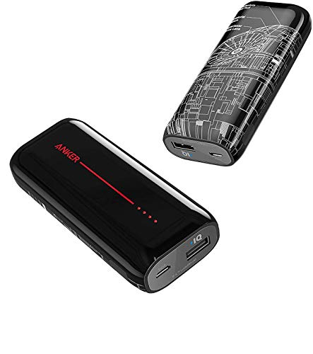 Anker PowerCore 6700 Death Star™ Edition (モバイルバッテリー 6700mAh)【PSE技術基準適合/超コンパクト】 iPhone &Android 各種対応