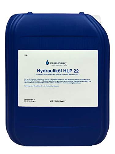 Hydrauliköl HLP 22 ISO VG 22 Nach Din 51524 Teil 2 (20 Liter)