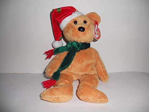 TY 2003 Holiday Teddy Beanie Baby by TY~XMAS BEANIES