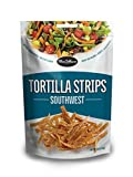 Our Mrs. Cubbison's tortilla strips southwest flavor, comes in 4 ounce bag pack of 9. Also available in corn, and tri-color flavor. Our Corn Tortilla Strips bring the fiesta to your table by adding a delicious crunch to any meal TOSS ON BEFORE SERVIN...