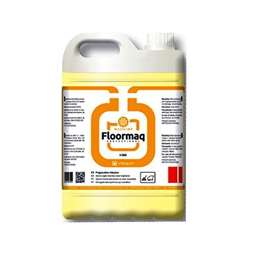 Limpiador Fregasuelos para Máquinas Automáticas, Formato 5 litros de Calidad Profesional, Producto enérgico para la Limpieza con máquinas automáticas de Suelos industriales. No Produce Espuma.
