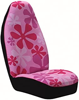 Auto Expressions 804215 Love Animal Patchwork Universal Bucket Black Seat Cover