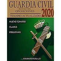 Guardia Civil - Manual para oposiciones: Temario actualizado 2020