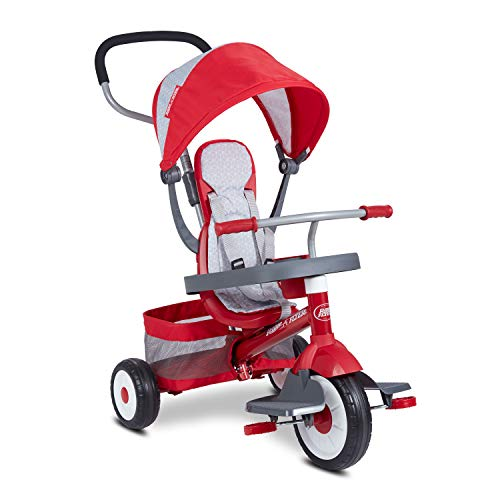 Radio Flyer 4-in-1 Stroll 'N Trike, Red (491)