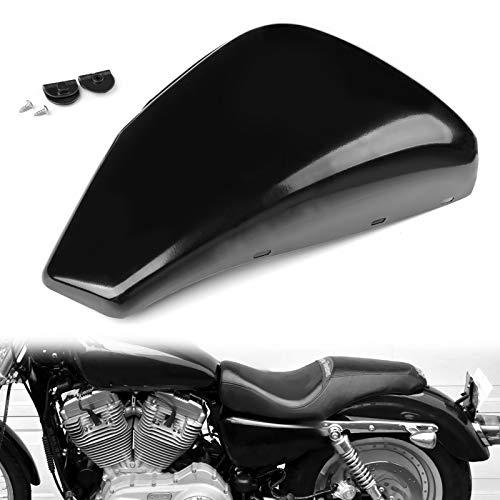 2pc cubierta lateral de la batería para Harley Sportster XL883 XL1200 2004-2013
