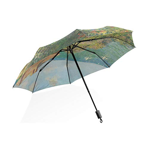 Isaoa Automatique Voyage Parapluie Pliable Compact...