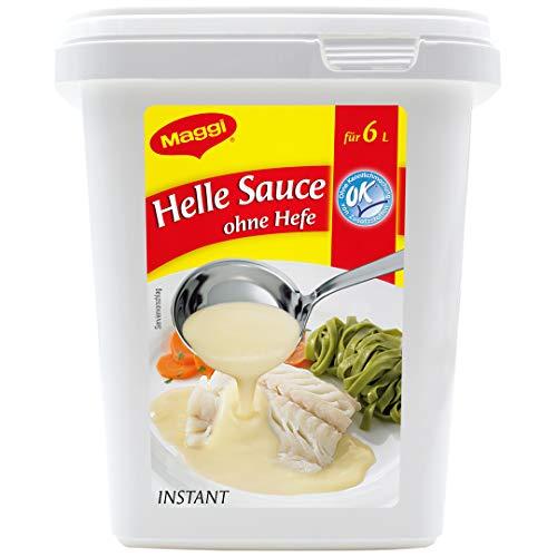 Maggi Helle Sauce, vegetarisch und laktosefrei, 1er Pack (1 x 750g Gastro Box)
