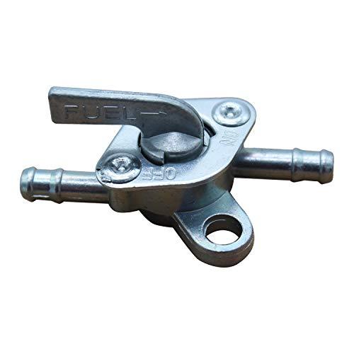 TAKPART 1 x Benzinhahn Kraftstoffhahn Benzinventil Absperrung für 6mm Benzin Schlauch