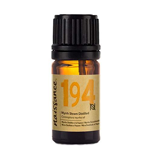 Naissance Aceite Esencial de Mirra n. º 194 - 5ml - Destilado al Vapor, 100 % puro, vegano y no OGM