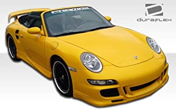 1999-2004 Porsche Boxster 997 Duraflex GT-3 RS Front End Conversion - Includes 997 GT-3 RS Conversion Front Bumper (105125), 997 GT-3 RS Conversion Grille (105127), and 997 Conversion OEM Fenders (105128). - Duraflex Body Kits