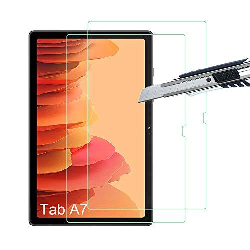 THILIVE (2 Stück) Samsung Galaxy Tab A7 10.4 (2020) Panzerglas, displayschutzfolie panzerfolie, folie gehärtetem Glas,9H Festigkeit,Kratzfest,Glasfolie Glas Schutzfolie -transparent