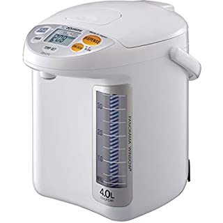 Zojirushi CD-LFC30 Panorama Window Micom Water Boiler and Warmer, 101 oz/3.0 L, White (B0166OD6PO) | Amazon price tracker / tracking, Amazon price history charts, Amazon price watches, Amazon price drop alerts