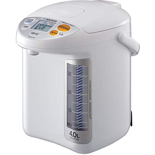 Zojirushi CD-LFC30 Panorama Window Micom Water Boiler and Warmer, 101 oz/3.0 L, White