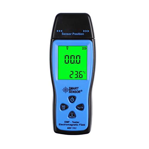 EMF Meter, Household Radiation Detector, Smart Sensor Digital LCD, EMF Detector Dosimeter Tester Counter