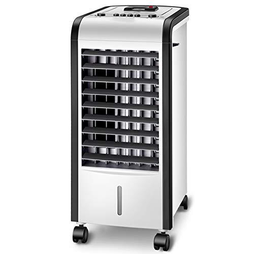 HAIPENG Mobile Tragbare Klimaanlage Klimagerät Luftkühler Lüfter 4 In 1 Mit Kühlung Heizung Funktion Luftbefeuchter Luftreiniger, 80W