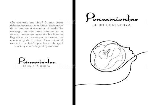Pensamientos de un cualquiera (Spanish Edition)