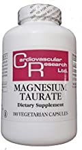 Cardiovascular Research Magnesium Taurate Capsules, 180 Count