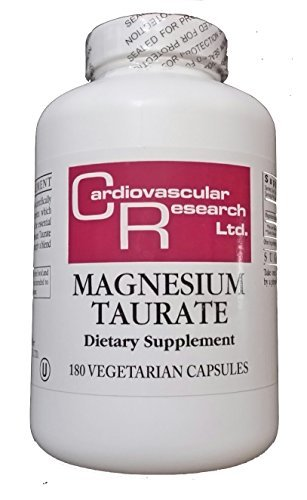 Best Magnesium Taurate Supplement: Cardiovascular Research