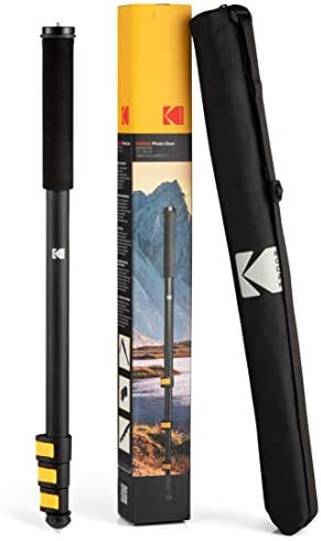 KODAK PhotoGear 72 Portable Monopod 21 72 Lightweight Aluminum Monopod 4 Section Flip Lock Adjustment product image
