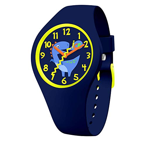 Ice-Watch - ICE fantasia Jurassic - Blaue Jungenuhr mit Silikonarmband - 017892 (Small)